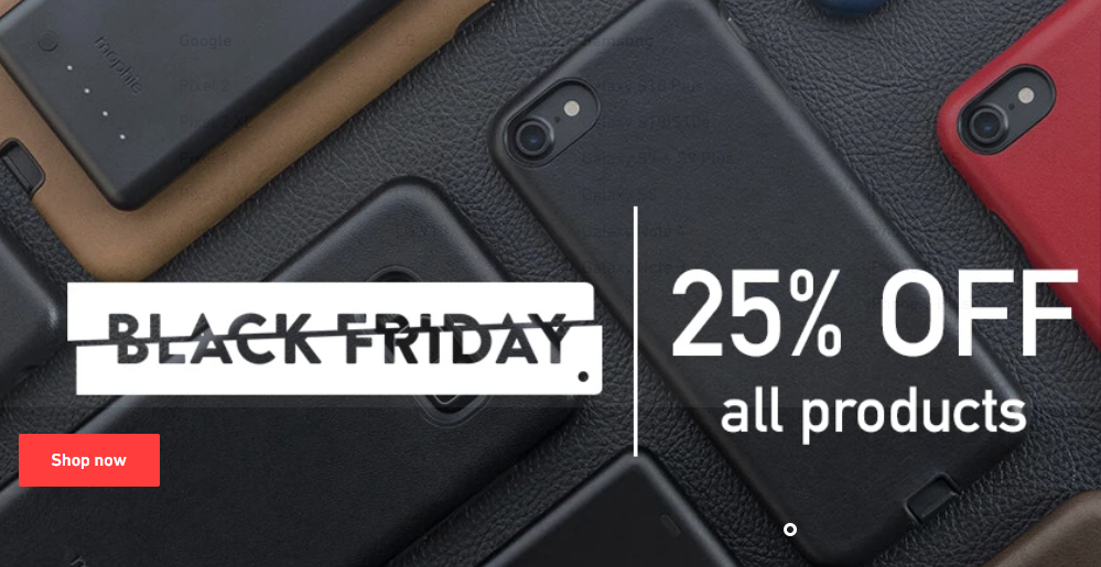 Gorilla Gadgets Black Friday Sale -25%