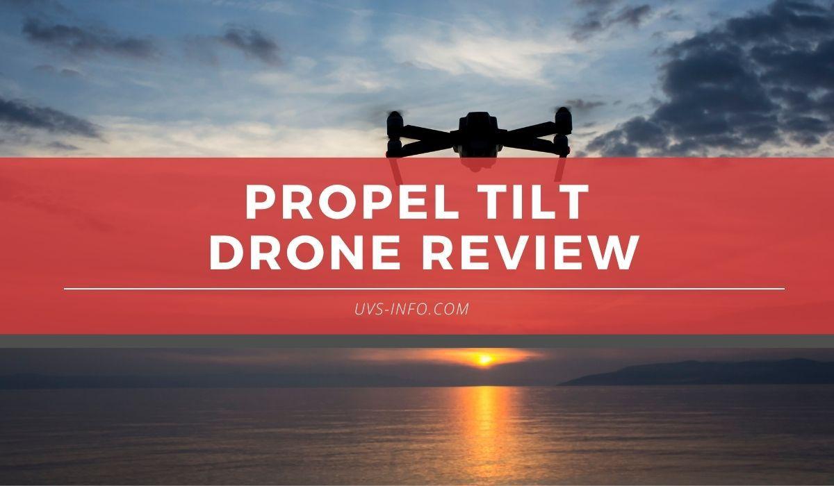 uvs propel tilt drone